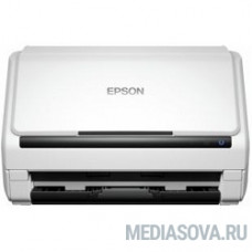 Epson WorkForce DS-530 (B11B226401) CIS, A4, протяжной, 600dpi, 35 стр. / мин, USB3.0, DADF [B11B226401] (+ B12B808451 в комплекте)
