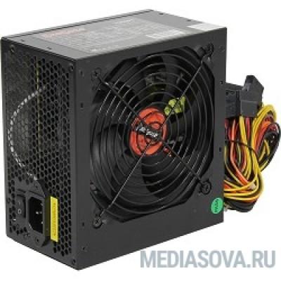 Блок питания Exegate EX259605RUS Блок питания 700W Exegate 700NPX, ATX, black, 12cm fan, 24p+(4+4)p, 6/8p PCI-E, 4*SATA, 2*IDE, FDD
