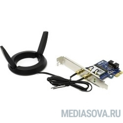 ASUS PCE-AC55BT(B1) Адаптер Wi-Fi Bluetooth 4.0, 2x ext Antenna
