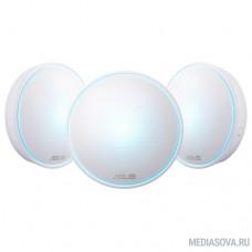 ASUS Lyra (MAP-AC2200) (3-PK) Система MESH-WiFi для больших квартир и домов (комплект 3 шт)