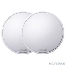 ASUS Lyra(MAP-AC2200) (2-PK) Система MESH-WiFi для больших квартир и домов (комплект 2 шт)