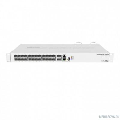 MikroTik CRS326-24S+2Q+RM Коммутатор в стойку, 24х SFP+, 2x QSFP+