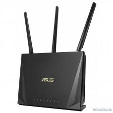ASUS RT-AC85P относится к устройствам стандарта AC2400 и работает в следующих частотных диапазонах: 600 Мбит/с (в диапазоне 2,4 ГГц) и 1733 Мбит/с (в диапазоне 5 ГГц).