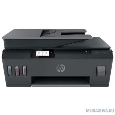 МФУ HP Smart Tank 530 (4SB24A) A4, 1200x1200dpi, 22 стр/мин (ч/б А4), 16 стр/мин (цветн. А4), 256 МБ, Wi-Fi, USB, Bluetooth