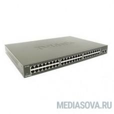 D-Link DES-1050G/C1A Неуправляемый коммутатор с 48 портами 10/100Base-TX + 2 комбо портами 10/100/1000BASE-T/SFP