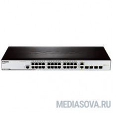 D-Link DES-3200-28/C1A Управляемый коммутатор 2 уровня с 24 портами 10/100BASE-T + 2 комбо-портами 1000Base-T/SFP