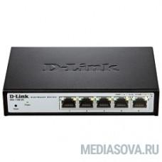 D-Link DGS-1100-05/B1A Настраиваемый компактный коммутатор EasySmart с 5 портами 10/100/1000Base-T