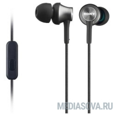 SONY MDR-EX450AP, серый Наушники с гарнитурой