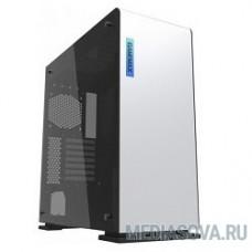 GameMax Корпус [9909(909) Vega whitePerspex] (Midi Tower, ATX, white + Perspex, RGB LED) (без БП)