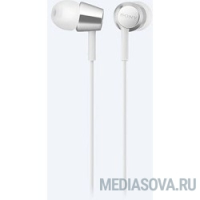 Sony MDREX155APW.E 1.2м белый проводные (в ушной раковине)