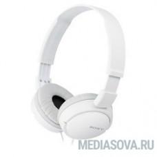 Sony MDRZX110APW 1.2м белый проводные (оголовье)