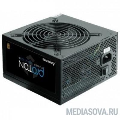 Блок питания Chieftec 500W (BDF-500S) ATX 2.3, 80 PLUS BRONZE, Active PFC, 120mm fan