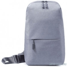 Xiaomi Рюкзак Mi City Sling Bag  (светло-серый) DSXB01RM [ZGB4070GL/ZJB4070GL]