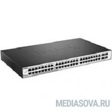 D-Link DGS-1210-52/ME/B1A Управляемый коммутатор 2 уровня с 48 портами 10/100/1000Base-T и 4 портами 1000Base-X SFP
