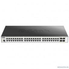 D-Link DGS-3000-52X/B1A Управляемый коммутатор 2 уровня с 48 портами 10/100/1000Base-T и 4 портами 10GBase-X SFP+