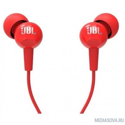JBL C100SIURED 1.2м красный проводные