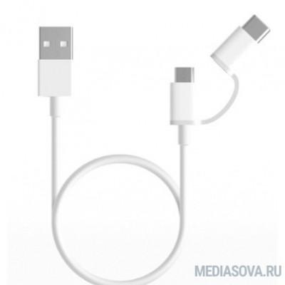 Xiaomi Mi 2-in-1 USB Cable Micro USB to Type C (100cm)