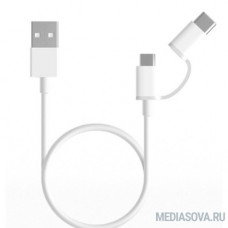 Xiaomi Mi 2-in-1 USB Cable Micro USB to Type C (30cm) SJV4083TY