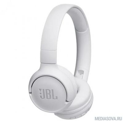 JBL T500BT WHT белый беспроводные bluetooth (оголовье)