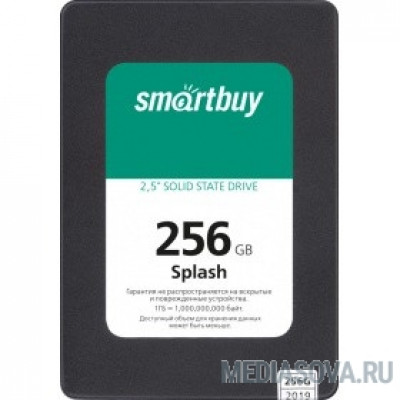 Smartbuy SSD 256Gb Splash SBSSD-256GT-MX902-25S3 SATA3.0