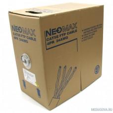 NEOMAX [NM20001] Кабель FTP cat.5e, 4 пары, (305м) 0.52мм   Медь  PVC jacket