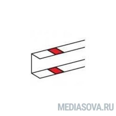 Legrand 010692 Накладка на стык профиля - самоклеющаяся - для односекционных кабель-каналов DLP - белая