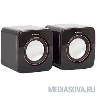 Defender SPK-530 черный 2.0, 2x2W USB [65530]