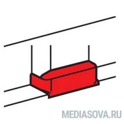 Legrand 010736 Отвод плоский на кабель-канал шириной 105 мм - для односекционных кабель-каналов DLP 35х80/105, 50х80/150 - белый