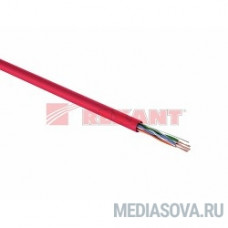 REXANT (01-0049) Кабель UTP CAT5e 4 пары (305м) 0.51 мм нг (А)HF  (аналог LSZH)