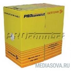 Proconnect (01-0045-3) Кабель UTP CAT5 4 пары (305м) 0.51мм OUTDOOR CCA