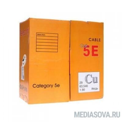 Telecom Кабель UTP кат. 5e 4 пары (305м) (0.5mm) CU внешний, черный [UTP4-TC1000C5EN-CU-OS]