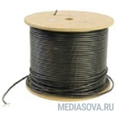 5bites US5505-305C(P)E Кабель  UTP / SOLID / 5E / 24AWG / COPPER / PVC+PE / BLACK / OUTDOOR / DRUM / 305M