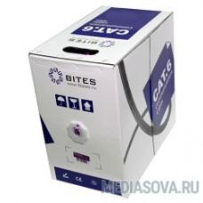 5bites US6575-100A Кабель  UTP / SOLID / 6CAT / 23AWG / CCA / PVC / 100M