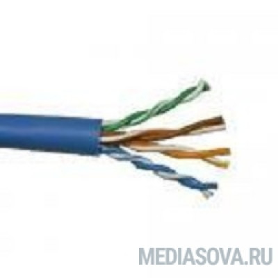 5bites US6575-305A(BL) Кабель  UTP / SOLID / 6CAT / 23AWG / CCA / PVC / BLUE / 305M