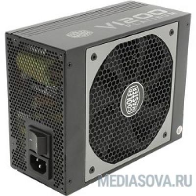 Блок питания Cooler Master  V1200 [RSC00-AFBAG1-EU] 1200W, ATX, 135mm, 9xSATA, 8xPCI-E(6+2), APFC, 80+ Platinum