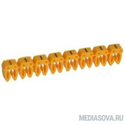 Legrand 038273 Маркер CAB 3 - условное обозначение - для кабеля 0,5-1,5 мм - минус