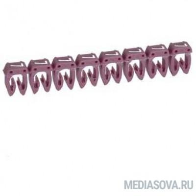 Legrand 038107 Маркер CAB 3 - для кабеля 0,15-0,5 мм3 - цифра 7 - фиолетовый