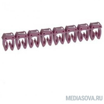 Legrand 038217 Маркер CAB 3 - для кабеля 0,5-1,5 мм3 - цифра 7 - фиолетовый
