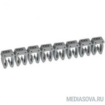Legrand 038218 Маркер CAB 3 - для кабеля 0,5-1,5 мм3 - цифра 8 - серый