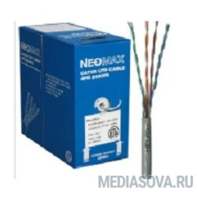 NEOMAX [NM20611] Кабель FTP cat.6, 4 пары, (305м) 0.57 мм  LSZH Медь