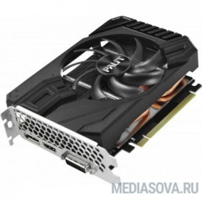 Видеокарта PALIT GeForce GTX1660 6 GB STORMX  192bit GDDR5 DVI, HDMI, DP Ret [NE51660018J9-165F]