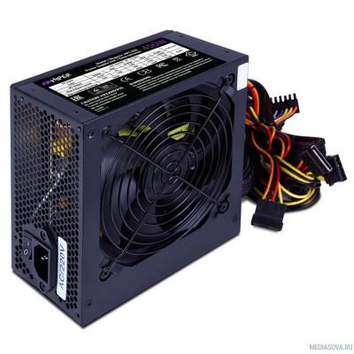 Блок питания HIPER Блок питания HPT-450 (ATX 2.31, peak 450W, Passive PFC, 120mm fan, power cord, черный) OEM