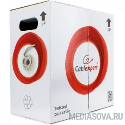 Cablexpert [UPC-6004-SOL] Кабель UTP кат.6, 4 пары, 0.57mm CCA одножильный серый (305м)