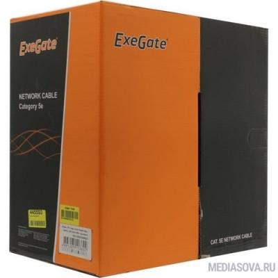 Exegate EX281820RUS Кабель Exegate  UTP4-C5e-CU-S24-IN-LSZH-OR-305 UTP 4 пары кат.5e медь, 24AWG, LSZH, бухта 305м, оранжевый