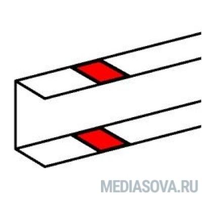 Legrand 010696 Накладка на стык профиля - на защелках - для односекционных кабель-каналов DLP 50х105 - белый