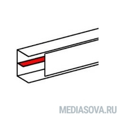 Legrand 010582 Разделительная перегородка - для кабель-каналов DLP 35х105, 50х80, 50х105, 50х150 - 2 м - белая
