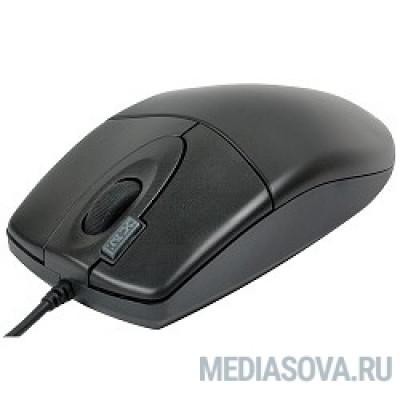 A4Tech OP-620D B/U1 (черный) USB, пров. опт. мышь, 3кн, 1кл-кн [85694]