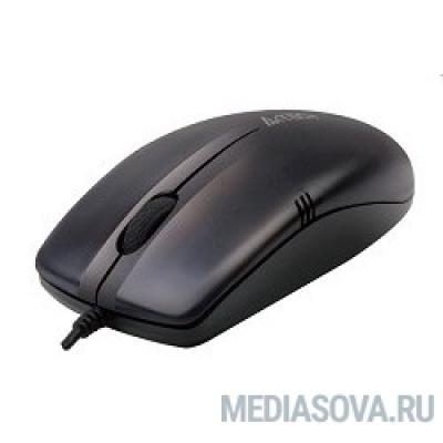 A4Tech OP-530NU (черный) USB,3+1 кл.-кн.,провод.мышь [631895]