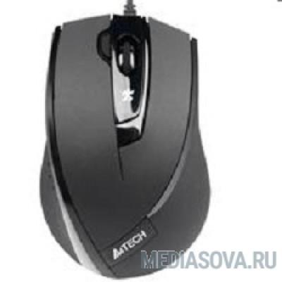 A4Tech N-600X (черный) USB, 3+1 кл.-кн.,провод.мышь [607631]