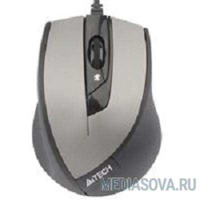 A4Tech N-600X-2 (серый) USB, 3+1 кл.-кн.,провод.мышь [607634]